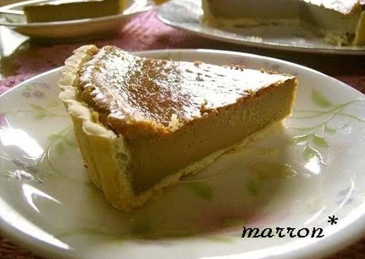 Recipe: Pleasurable Coffee Cheesecake Tart
