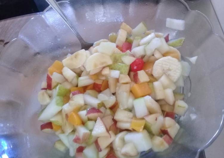 Recipe of Super Quick Homemade Fruit salad