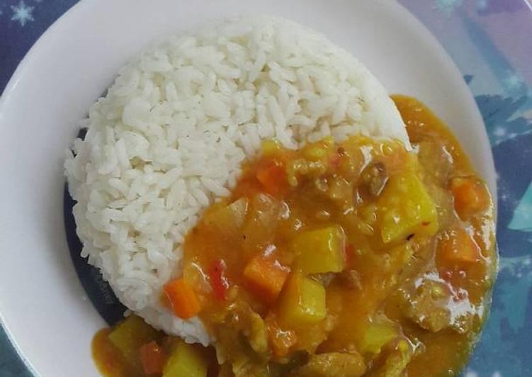 Kari daging jepang sederhana
