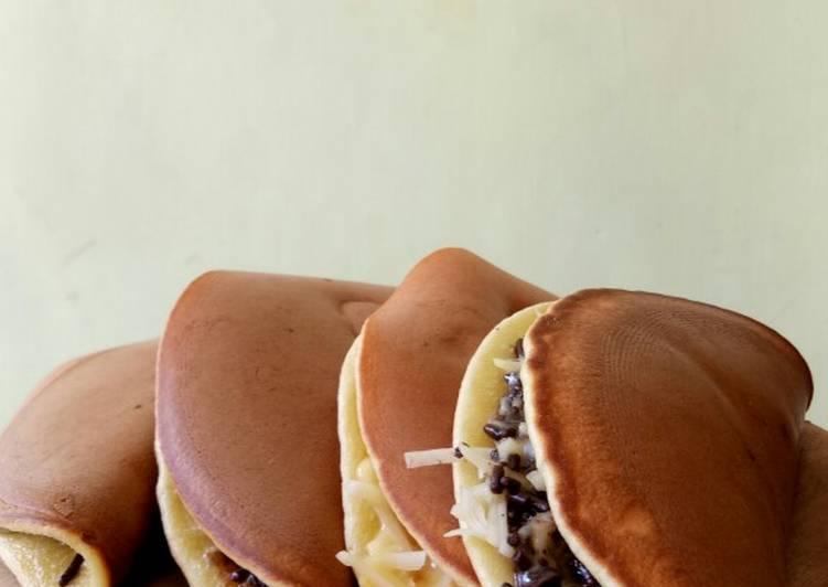 Resep PANCAKE LIPAT SUPER SIMPLE ! Terbaik