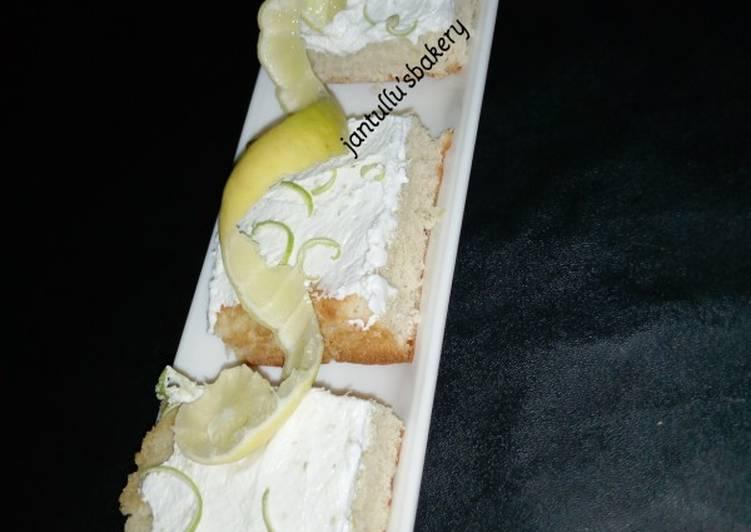 Mayonnaise lemon cream sheet cake