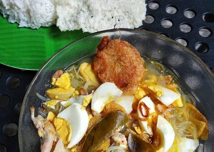 Soto Ayam Harum 4 Rempah