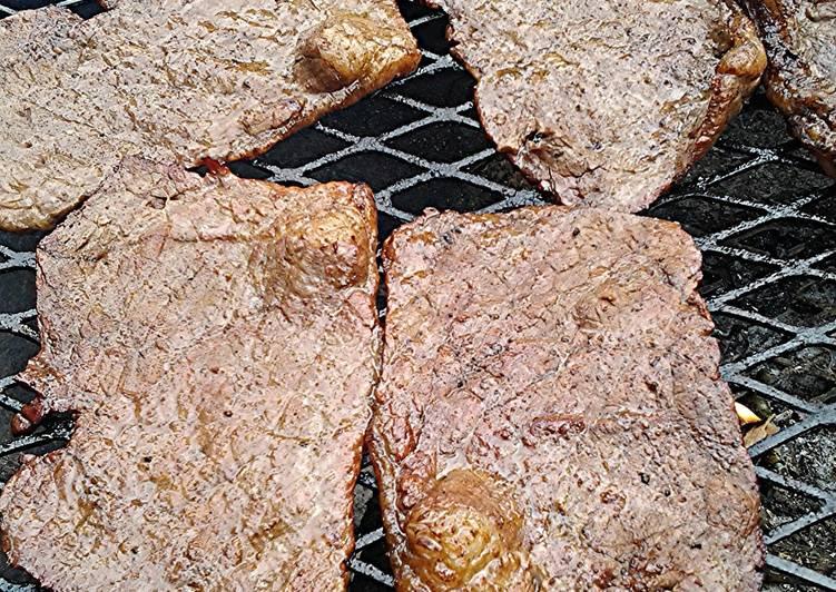 Skye's Bottom round steak