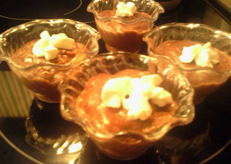 Step-by-Step Guide to Make Homemade sunshine's light milk chocolate pudding