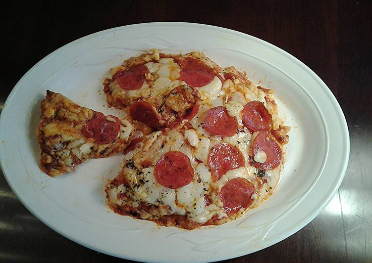 Recipe: Perfect Chicken Parmesan Pizza