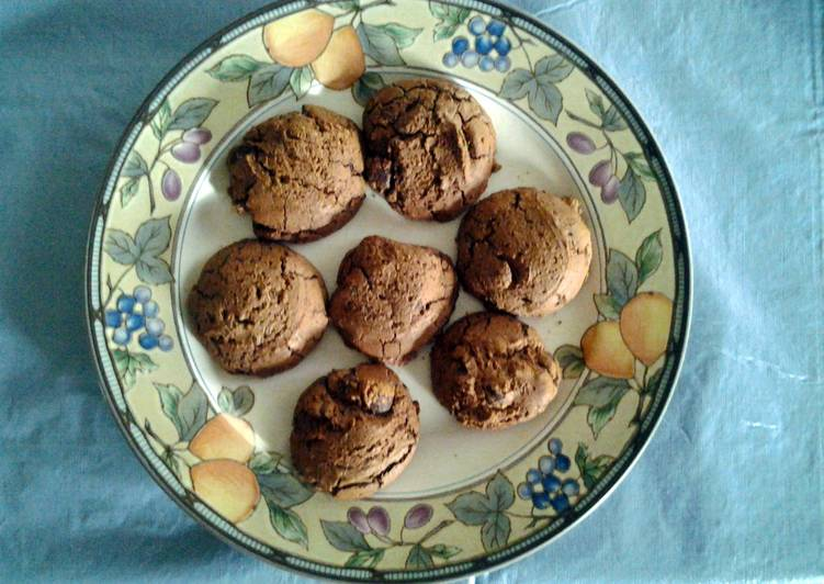 Ultimate Mocha Truffle Chocolate Cookies