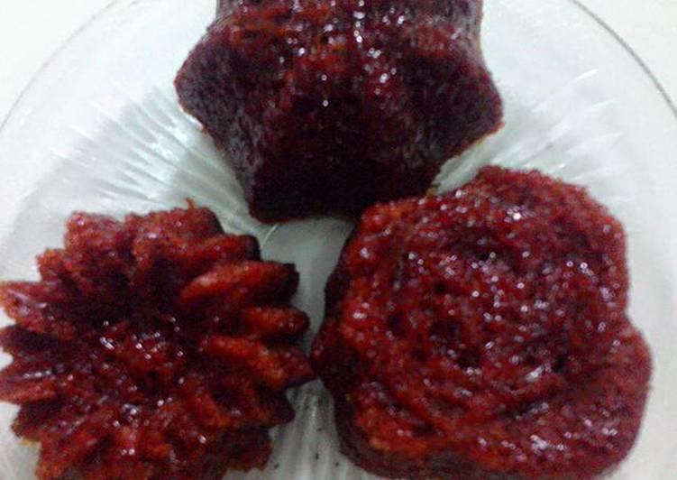 resep buat Bolu karamel (sakura) mudah - Sajian Dapur Bunda