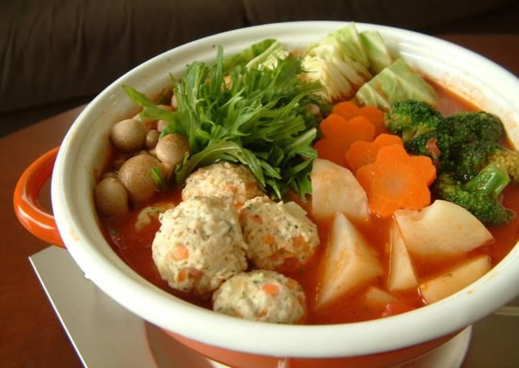 Simple Way to Prepare Perfect Italian-style Tomato Hot Pot