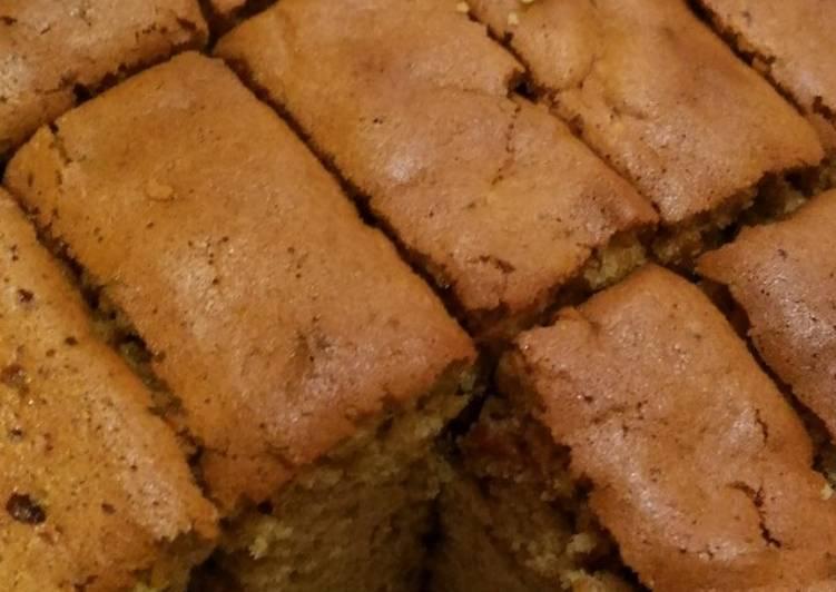 Sponge Coffee Cake / Bolu Kopi Panggang