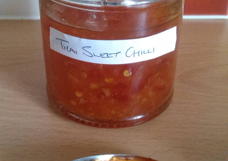 Vickys Thai-Style Sweet Chilli Dipping Sauce