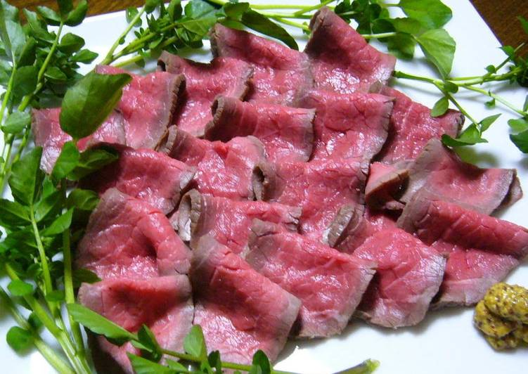 """Ultra-Easy """"Roast"""" Beef Made with Aussie Beef"""
