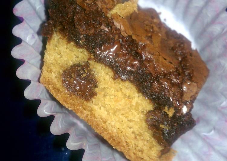 Brookies (brownie cookie)