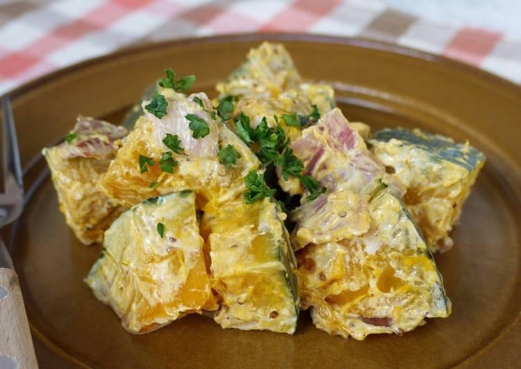 Kabocha Squash and Grainy Mustard Salad
