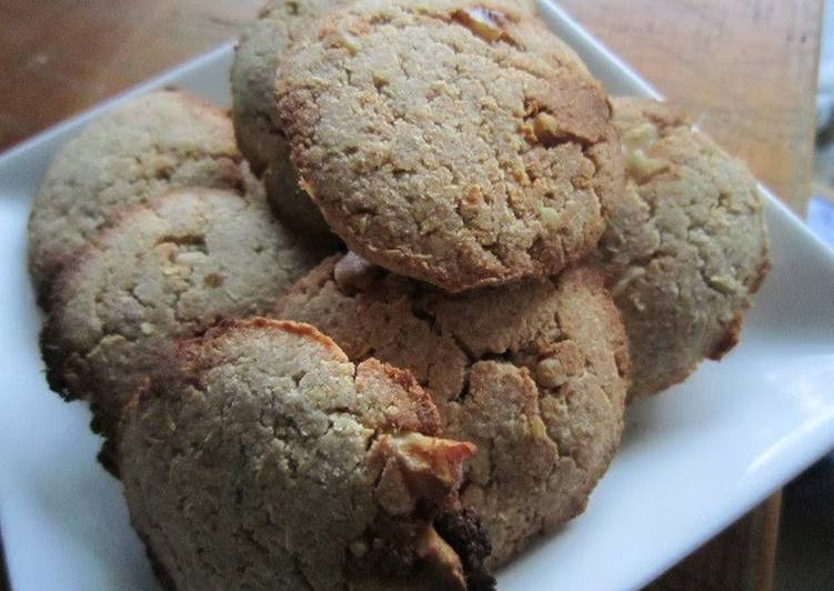 Banana and Okara Cookies for Vegans - Laurie G Edwards