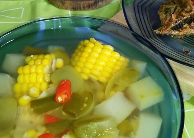 *sayur asem sederhana, bumbu iris* - resepdapurenak.com