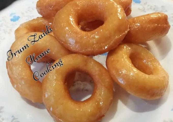 Easiest Way to Make Perfect 🍩Two Ingredient Mini Glazed Donuts🍩