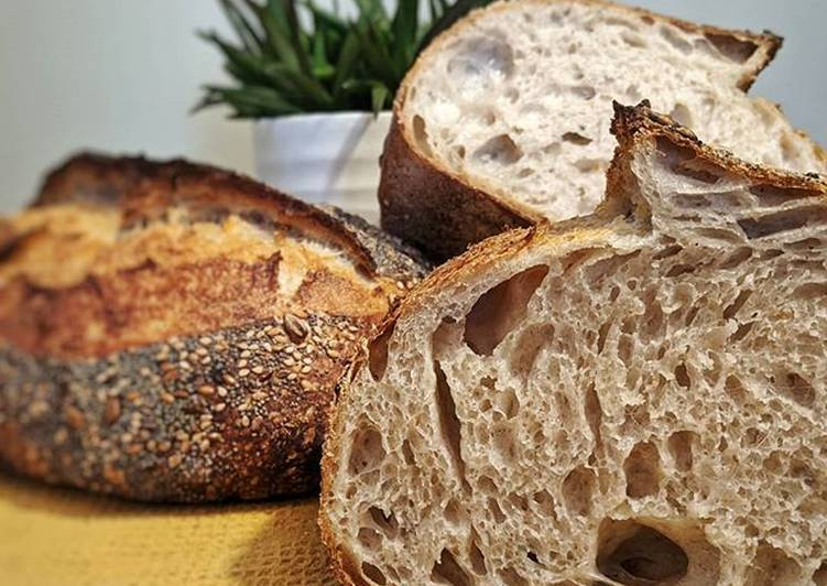 The Ultimate Seeded White Sourdough