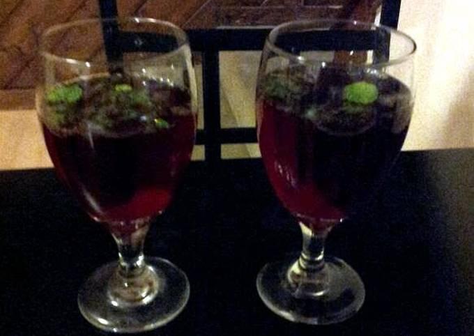 The Perfect Cherry Pomegranate Mojito!