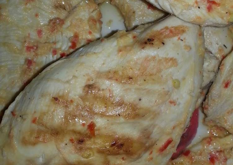 Easy chilli lemon chicken breast