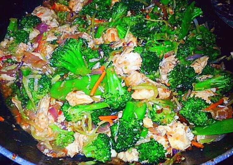 Easiest Way to Prepare Speedy Honey Teriyaki Chicken Stir Fry
