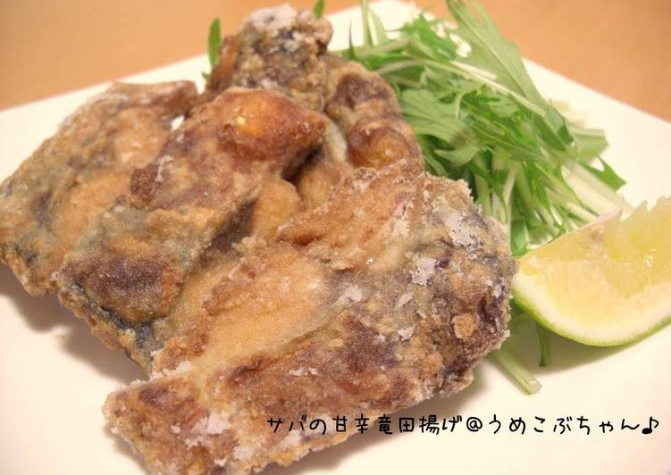 Recipe of Homemade Sweet & Savory Fried Mackerel