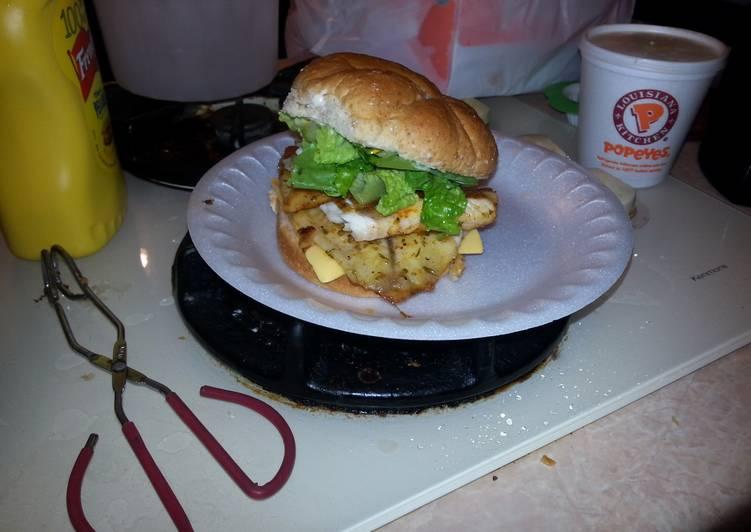 Simple Way to Make Award-winning Tilapia fish sandwich