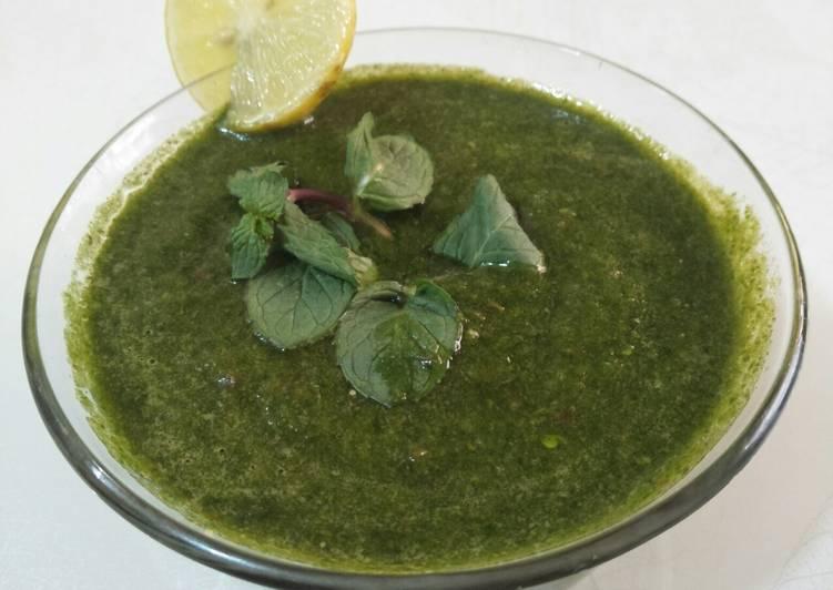 Absolutely Ultimate Dinner Ideas Ultimate Pudine(Mint)ki khatti-Meethi Chutney