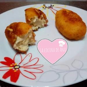 Croquetas de pollo a l'ast - las mejores croquetas de la abuela