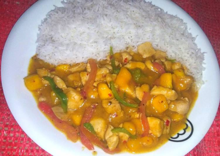 Spicy mango chicken, Foods That Are Helpful To Your Heart