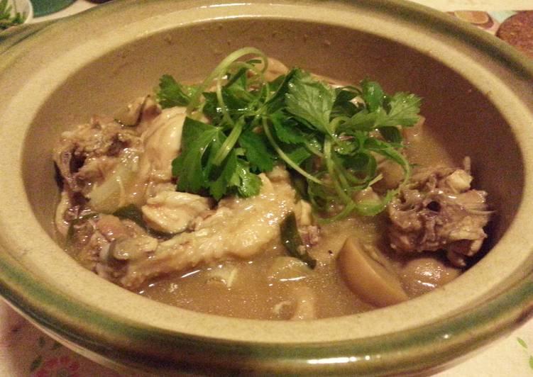 Claypot Stew Chicken