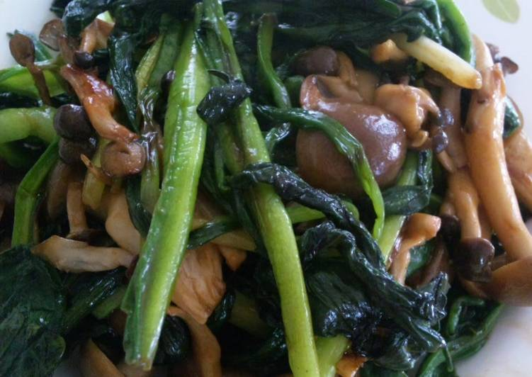 Easiest Way to Make Ultimate Ramps and Mushroom Consommé Butter Stir-fry