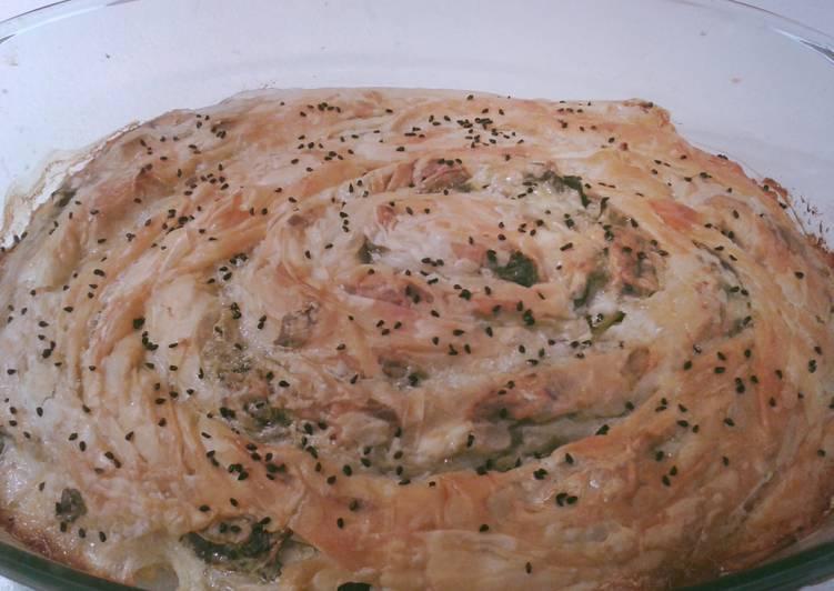 Recipe: Delicious Spinach pie