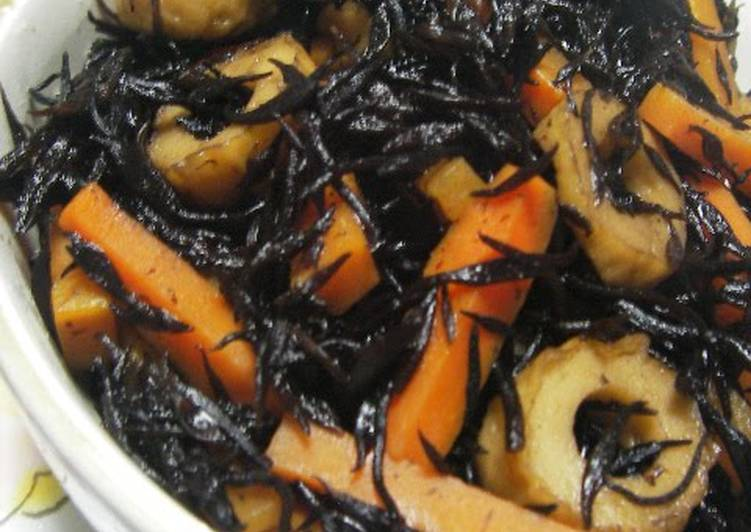 Simple and Easy Simmered Hijiki Seaweed, Exactly Why Are Apples So Good Pertaining To Your Health