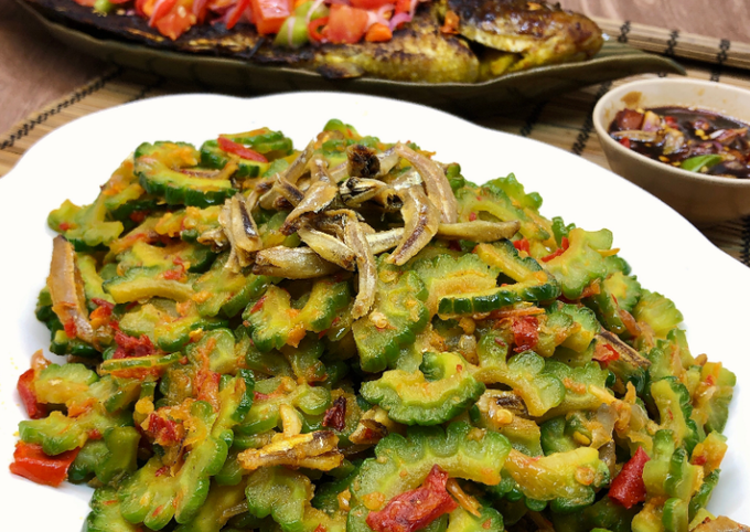 Resep Tumis Pare Pedas Oleh Cooking With Sheila Cookpad