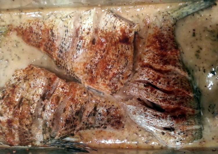 Recipe of Speedy Lemony Baked Fish