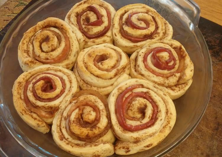 Bacon Rolled Cinnamon Buns