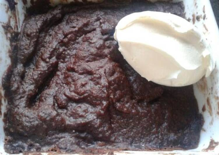 Recipe of Perfect Rich Cocoa Almond Microwave Cake (LCHF)