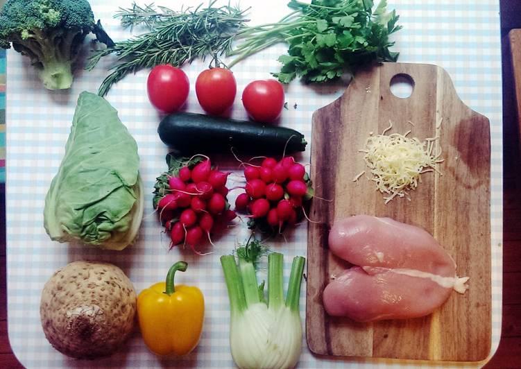Recipe: Tasty Chicken an Vegetable Casserole