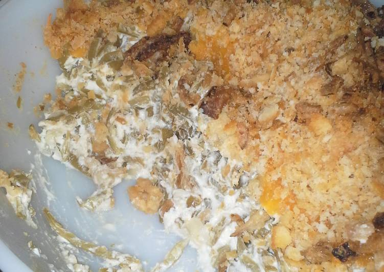Steps to Prepare Ultimate The Absolute Best Green Bean Casserole