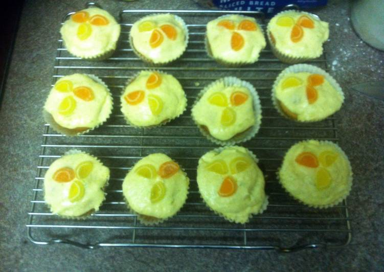 Cookie's Lemon and lime cupcakes