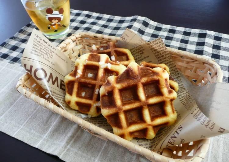 5 Minute Recipe of Special Belgian Waffles