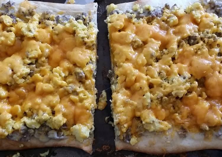 Taisen's breakfast pizza