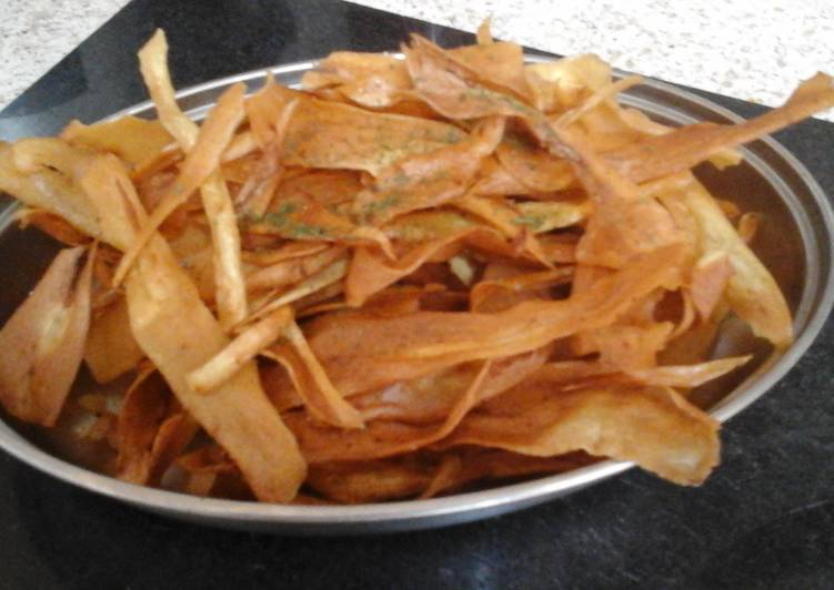 Step-by-Step Guide to Prepare Perfect My Deep Fried Parsnip Crisp