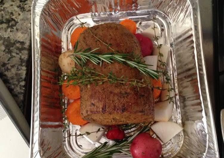 Roast Beef Loin At It's Best