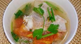Hình ảnh món Canh cá điêu hồng nấu ngót