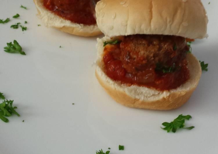 Easiest Way to Make Appetizing Zesty Meatball Sliders