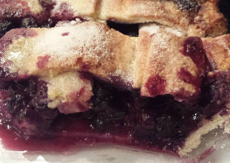 Recipe of Quick Blueberry pie