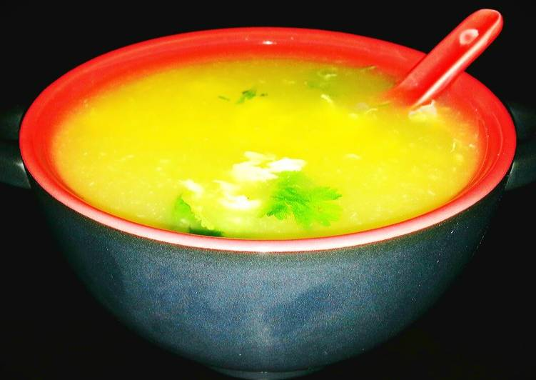 Mike's Easy Egg Drop Soup