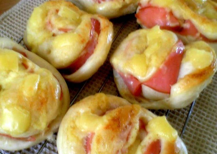 Recipe: Tasty Ham & Mayonnaise Bread