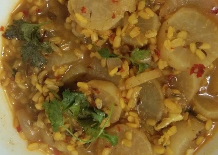 White Radish Curry